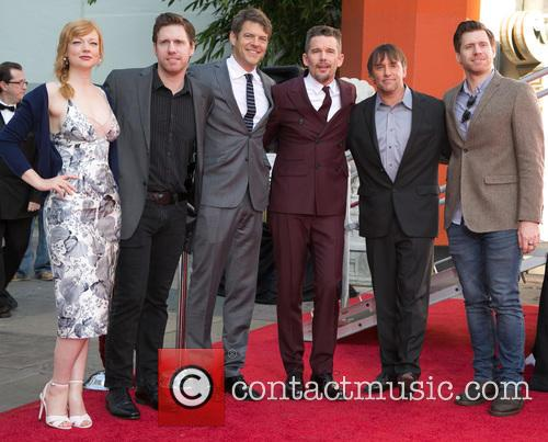Sarah Snook, Michael Spierig, Jason Blum, Ethan Hawke and Richard Linklater