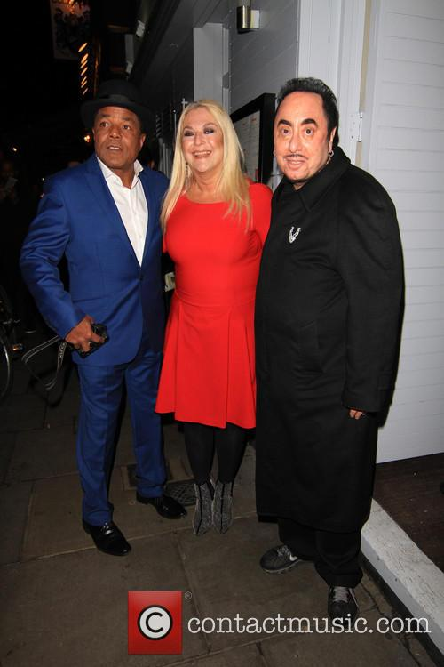 Vanessa Feltz, Tito Jackson and David Gest 3