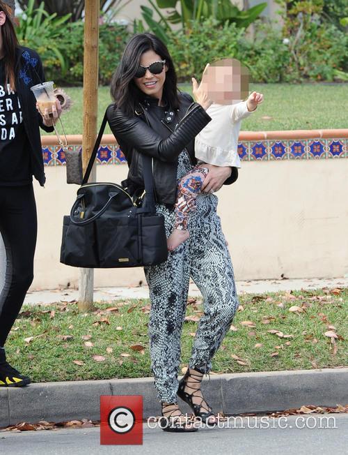 Jenna Dewan and Everly 8