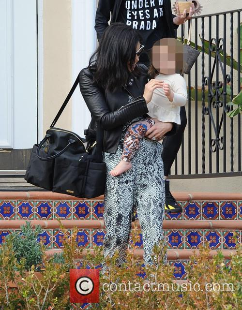 Jenna Dewan baby class with daughter Everly