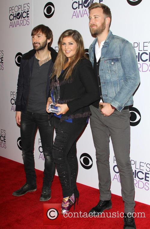 Dave Haywood, Hillary Scott, Charles Kelley and Of The Music Group 'lady Antebellum' 2