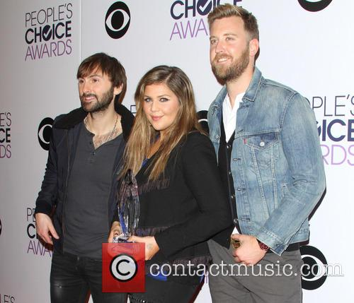 Dave Haywood, Hillary Scott, Charles Kelley and Of The Music Group 'lady Antebellum' 3