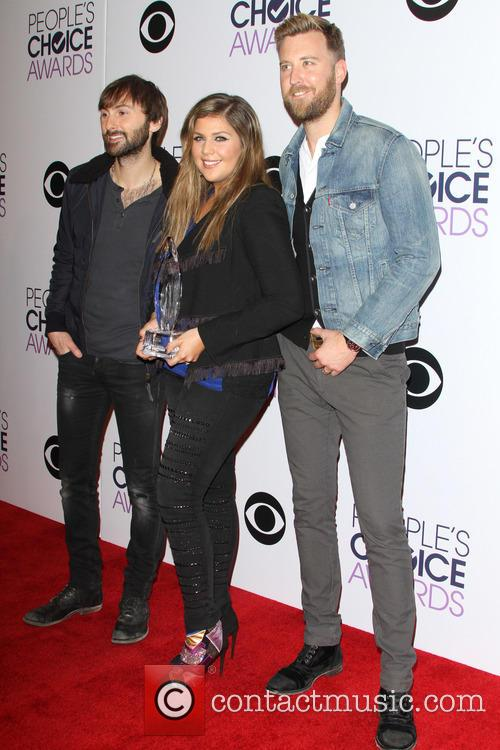 Dave Haywood, Hillary Scott, Charles Kelley and Of The Music Group 'lady Antebellum' 4