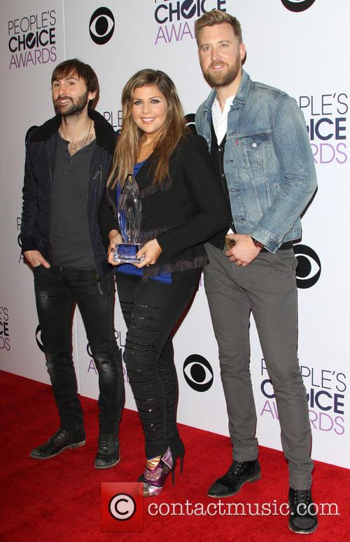Dave Haywood, Hillary Scott, Charles Kelley and Of The Music Group 'lady Antebellum' 1