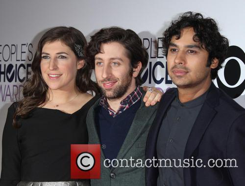 Mayim Bialik, Simon Helberg and Kunal Nayyar