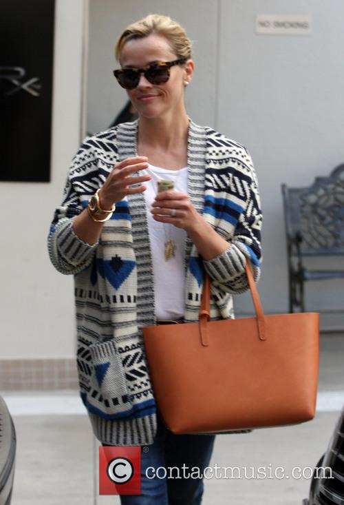 Reese Witherspoon running errands in Beverly Hills