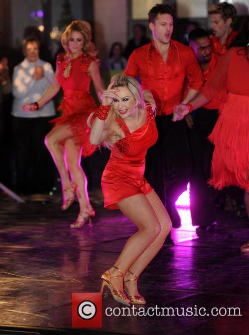 'Strictly Come Dancing' contestants on 'The One Show'