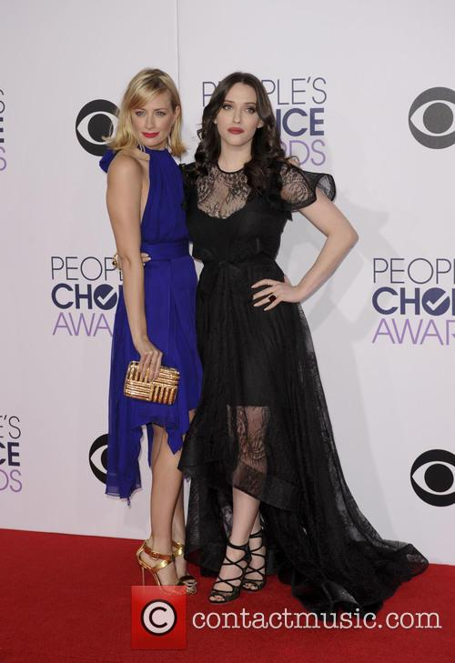 Beth Behrs and Kat Dennings 2