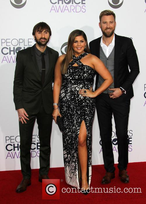 Hillary Scott, Dave Haywood and Charles Kelley 2