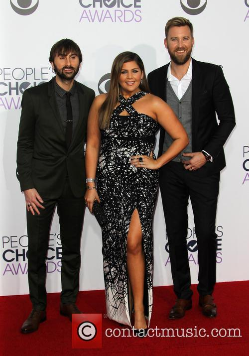 Hillary Scott, Dave Haywood and Charles Kelley 3