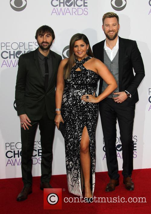 Hillary Scott, Dave Haywood and Charles Kelley 4