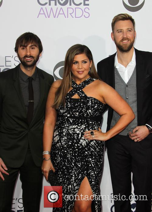 Hillary Scott, Dave Haywood and Charles Kelley 5