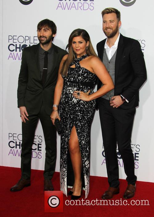 Hillary Scott, Dave Haywood and Charles Kelley 6