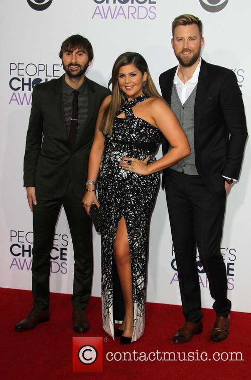 Hillary Scott, Dave Haywood and Charles Kelley 7