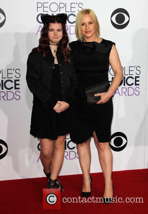 Harlow Olivia Calliope Jane and Patricia Arquette 5