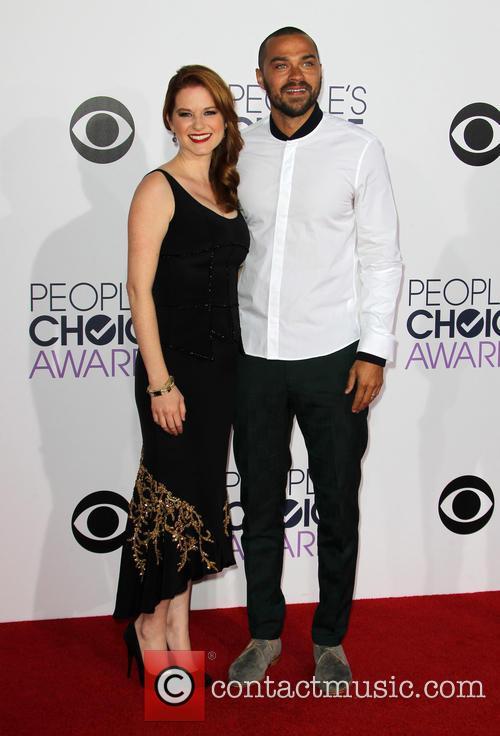 Sarah Drew and Jesse Williams 2