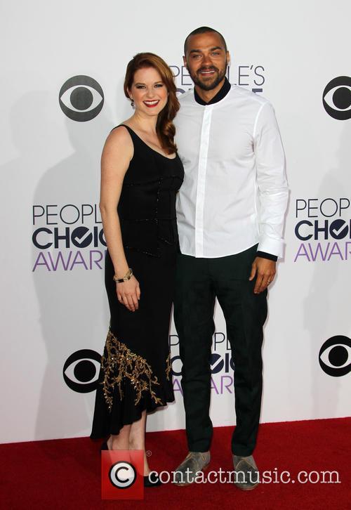 Sarah Drew and Jesse Williams 3