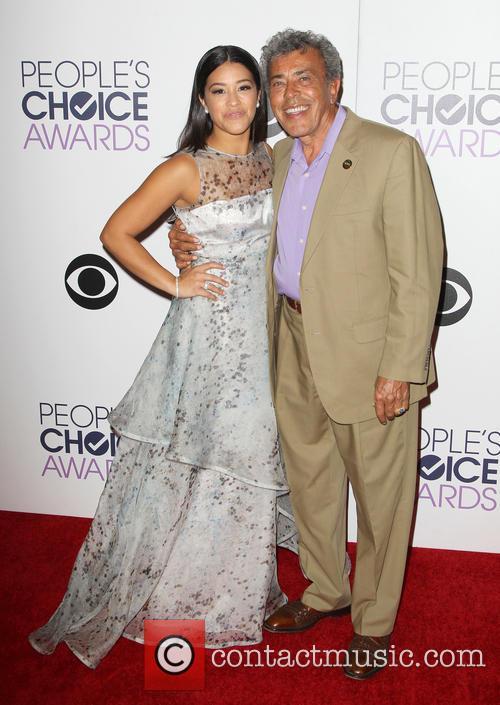 Gina Rodriguez and Genaro Rodriguez 6