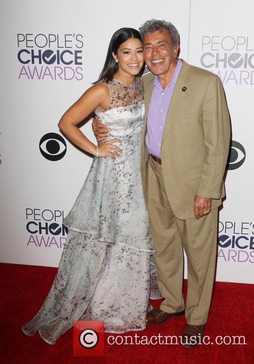 Gina Rodriguez and Genaro Rodriguez 8