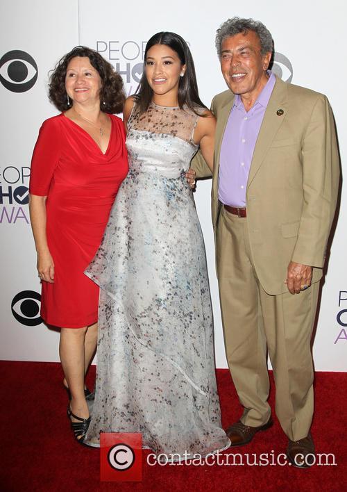 Magali Rodriguez, Genaro Rodriguez and Gina Rodriguez 3
