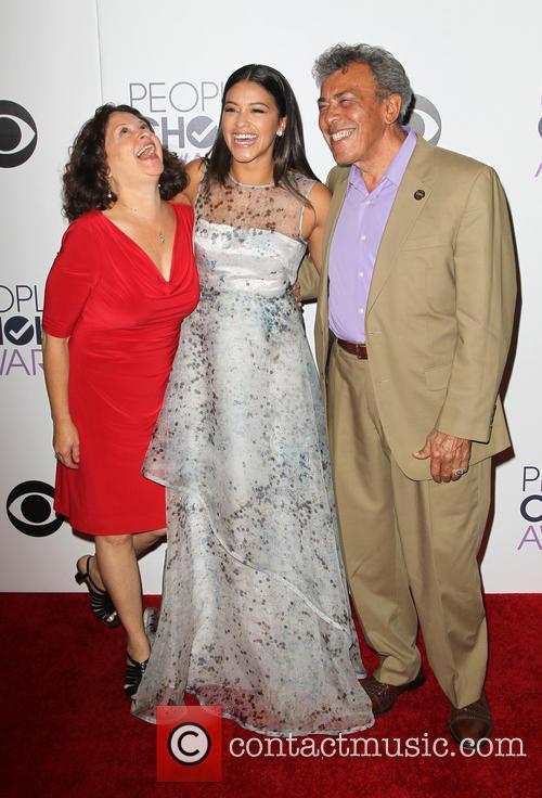 Magali Rodriguez, Genaro Rodriguez and Gina Rodriguez 4