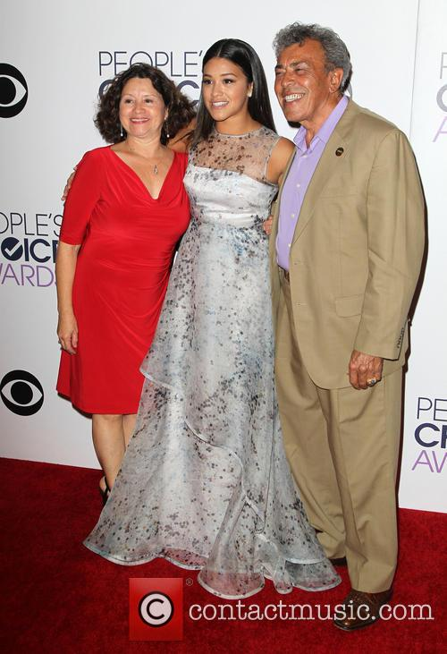 Magali Rodriguez, Genaro Rodriguez and Gina Rodriguez 5
