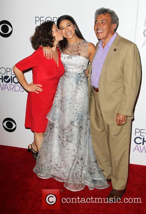 Magali Rodriguez, Genaro Rodriguez and Gina Rodriguez 6