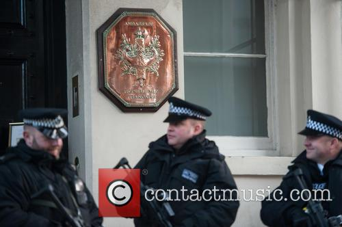 French Embassy tributes and security in London