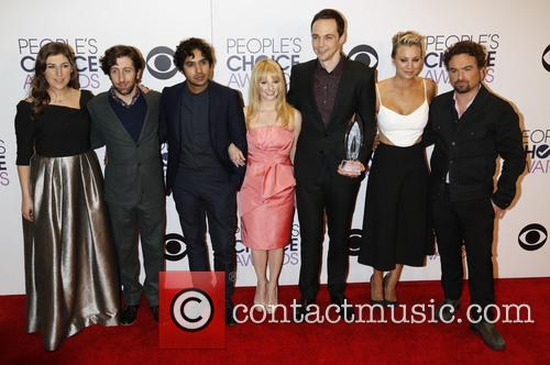 Mayim Bialik, Simon Helberg, Kunal Nayyar, Melissa Rauch, Jim Parsons, Kaley Cuoco-sweeting, Johnny Galecki and Big Bang Theory 11