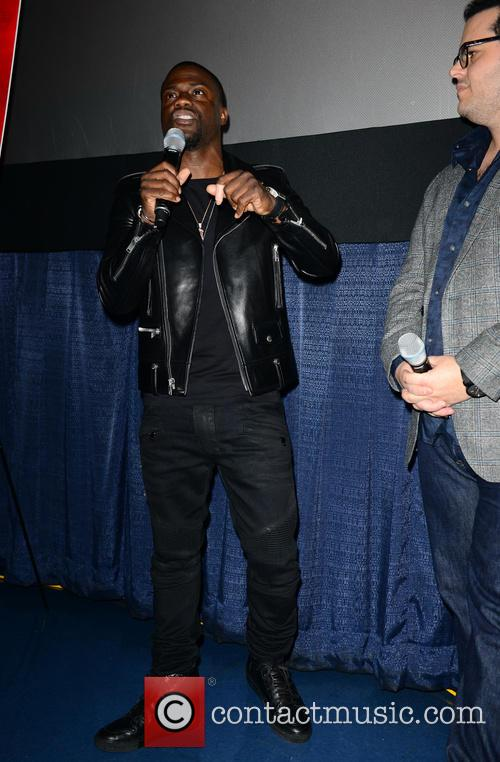 Kevin Hart and Josh Gad 9