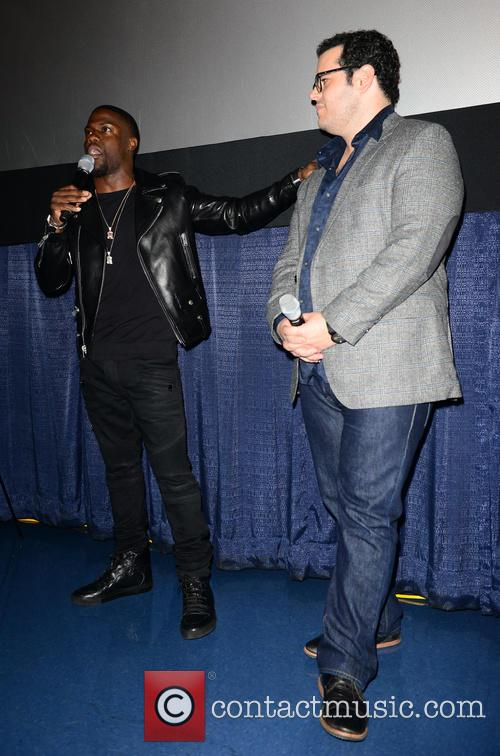 Kevin Hart and Josh Gad 10