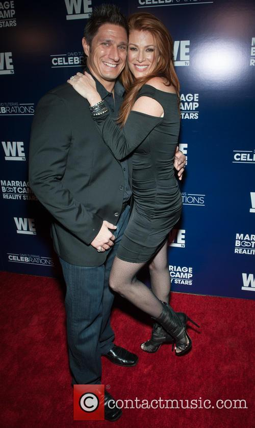 Carl Ferro and Angie Everhart 1
