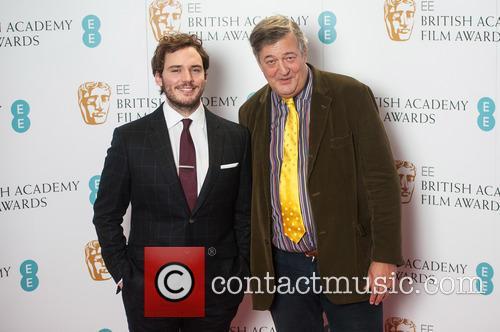 Sam Claflin and Stephen Fry 2