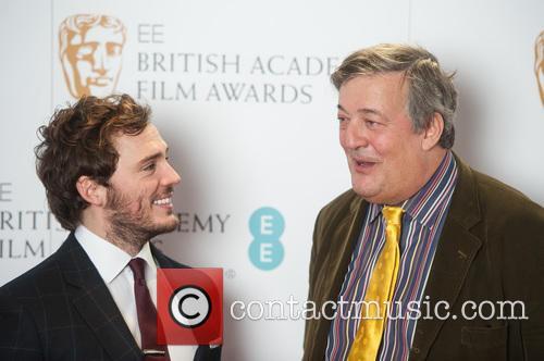 Stephen Fry and Sam Claflin 9
