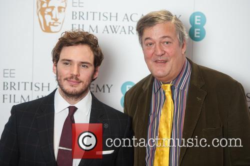 Stephen Fry and Sam Claflin 10