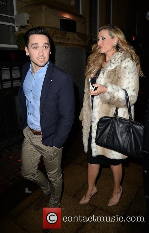 Catherine Tyldesley and Tom Pitfield 10