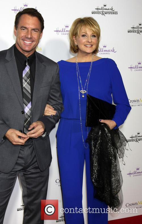 Mark Steines and Cristina Ferrare