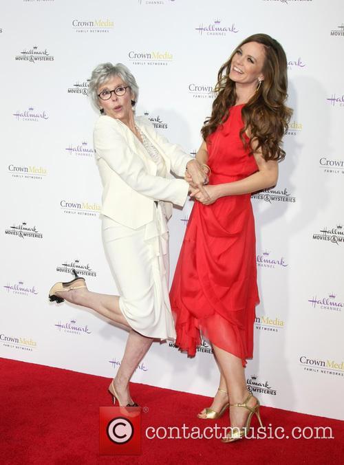 Rita Moreno and Rachel Boston 8