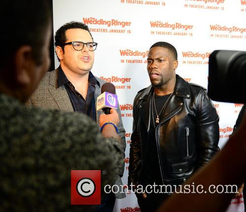 Josh Gad and Kevin Hart 2