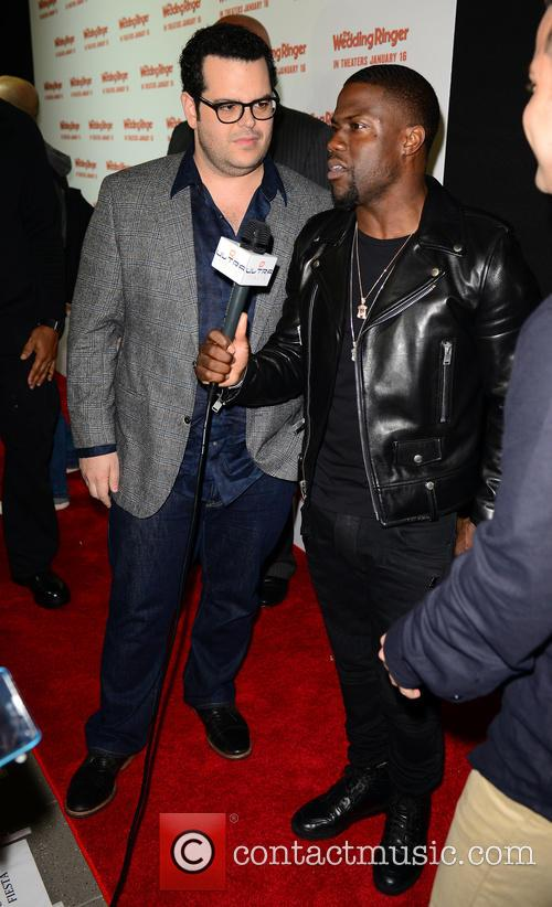 Josh Gad and Kevin Hart 4