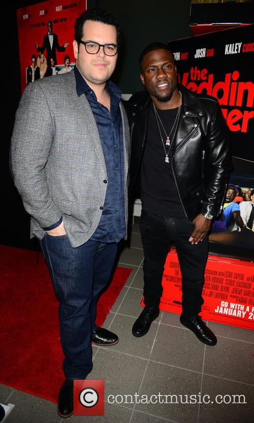 Josh Gad and Kevin Hart 1