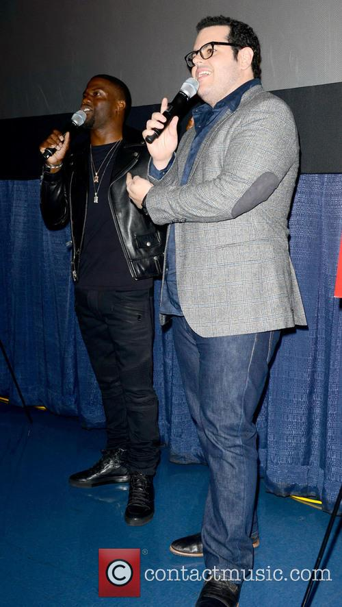 Kevin Hart and Josh Gad 4