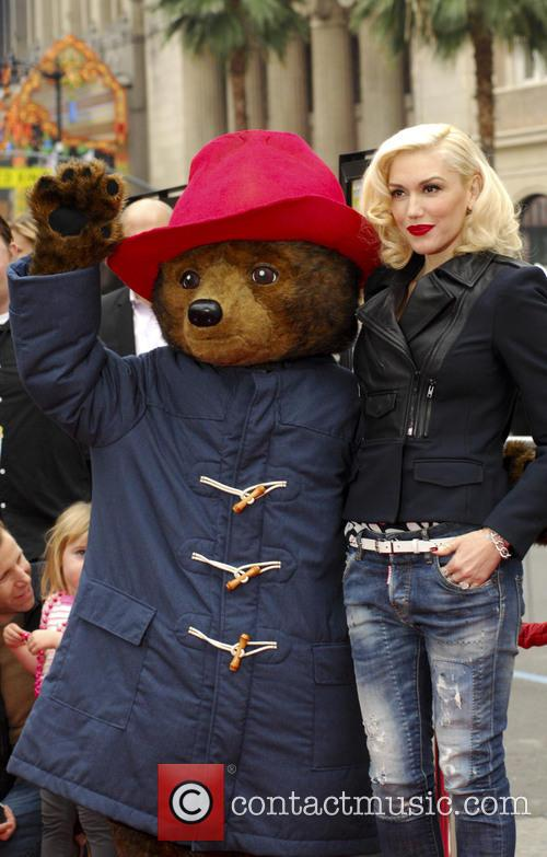 Gwen Stefani and Paddington 2