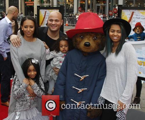 Mel B, Producer Stephen Belafonte and Children 2