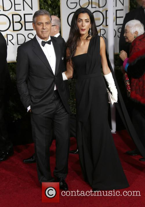 George Clooney and Amal Alamuddin Clooney 3