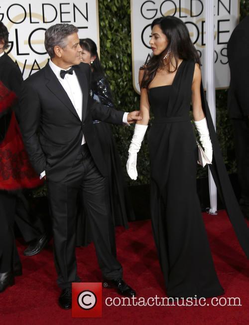 George Clooney and Amal Alamuddin Clooney 4