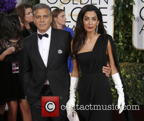 George Clooney and Amal Alamuddin Clooney 5