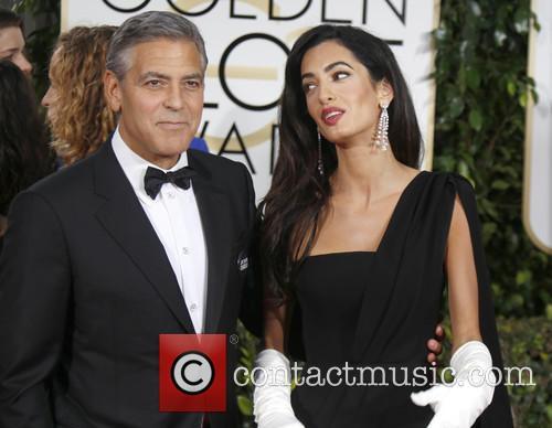 George Clooney and Amal Alamuddin Clooney 6