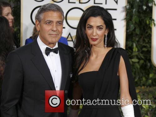 George Clooney and Amal Alamuddin Clooney 7