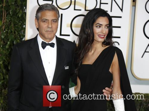 George Clooney and Amal Alamuddin Clooney 8